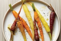 """carrots / """"Large, naked, raw carrots are acceptable as food only to those who live in hutches eagerly awaiting Easter.""""  - Fran Lebowitz / by Cimmy Redmond"""