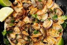 Clams go with... / All things glorious that go well with clams.