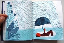 Inspiration - journals / sketchbooks / by JA H
