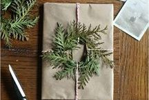 gift wrapping / inspiration for wrapping the perfect present