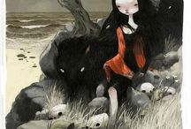 Art - aesop / Grimm tales / fables / fairytales / by JA H