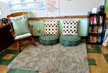 Classroom Reading Corner / I love easy, cute, DIY reading corners in my classroom! Reading nooks and areas are fun for kids and teaching small groups in your classroom. Why not grab some great reading corner ideas?!