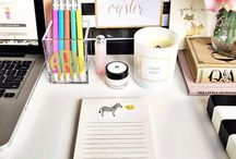 Teacher Desk Organization / One of my favorite things to organize in my classroom is my teacher desk area! Posting cute DIY ideas and decorations to inspire my classroom set up for each year!