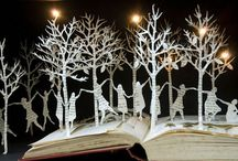 Art - book art / book sculpture / by JA H