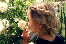 Hair Inspiration / From braids to curls, I love it all! Hair style ideas and some of the easiest ways to transform your look :)