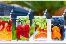 Healthy Sips / Infused water, healthy mocktails and more.  / by Christina Stiehl