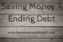 Saving Money | Ending Debt / http://www.thereoncewasthisgirl.com || If you'd like to be added as a contributor to this board, please follow me then email your request to shaylahcoogan@thereoncewasthisgirl.com. :)