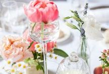 Tablescape / Entertaining / Beautiful table displays.