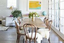Dining Room Ideas / A beautiful selection of differently styled dining rooms.