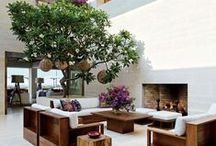 Outdoor Living / Gardens, Terraces, and stunning outdoor spaces.