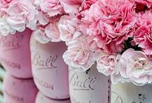 Romantic Flowers & Decor / Romantic florals and party decor