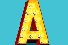 A is for Awesome / Typography love