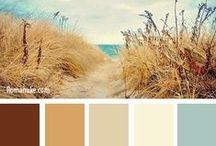 DESIGN...Color Palettes / by Heidi Marchant