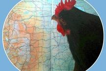 Ain't Nobody Here But Us Chickens / by Moi