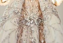 ELEGANCE / Femininity through lace, pretty pinks and soft metallics.