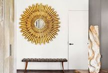 MIRRORS / Styling and decorating your home with mirrors.
