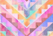 Colour + Pattern inspiration / by Chít Chít Béo