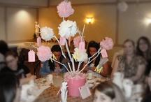 MY DIY Parties / showers DIY birthdays events kids favors centerpieces