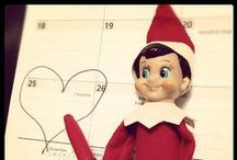 HOLIDAYS -- Christmas Elf on Shelf