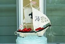 Celebrations -- Nautical / Sailing the seven seas to find the perfect nautical party ideas?  Here's a round up of our favorites.