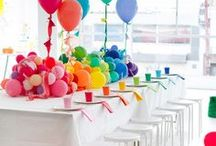 Celebrations -- Art party / Concepts & décor for an art-themed child's party