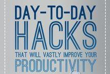 Produktivitet / Bra tips och idéer för hur du blir mer produktiv.