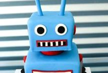 Celebrations -- Robot party / Blast off your robot party with these festive ideas.