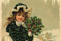 HOLIDAYS -- Christmas vintage pics