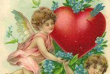 HOLIDAYS -- Valentines vintage pics