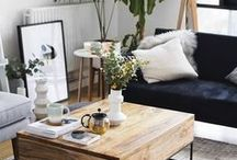 HOME STYLING / Pretty vignettes, coffee tables and more.