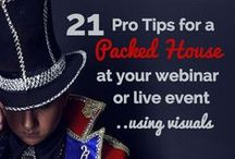 Webinar Tips / by Andrea Walford