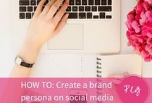 SOCIAL MEDIA / BLOGGING / Tip and Know Hows for blogging, social media and business.