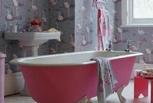 bathroom / if i cant swim in the ocean at least i want a huge bathtub.