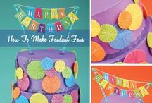 birthday wishes / Get your party on with these remarkable party ideas for birthdays, young and old.  / by Bakery Crafts