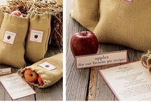 themed wedding: apple wedding