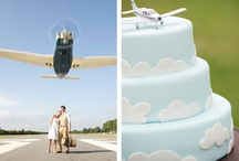 themed wedding: Hangar Wedding