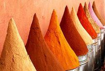 Color. Orange / Orange & tangerine colors