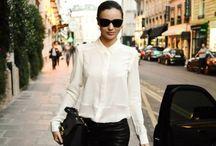 street style: miranda kerr / by Farrah Hinkle