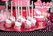 hello kitty / Girls love Hello Kitty! Create special memories using this global icon. Perfect for young girls to young adults, baby showers, and much more.  / by Bakery Crafts
