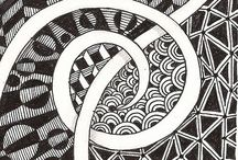 A ZENTANGLE / So many Zentangles, so little time