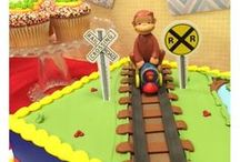curious george / by Bakery Crafts