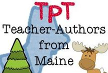 Maine Teacher-Authors / I'm looking to make a collaborative board of Maine TpT sellers. I love Maine. I Love TpT. I would love to see your pins of TpT products, blogs & TpT stores  created in the North. Let's make a mark!   ***Maine Teacher-Authors: If you would like to be a collaborative pinner, follow the board, then send me a Pinterest message and I will send you an invite!***   Be a generous blogger and follow & share others original work. Let's get the word out…Maine teachers are wicked creative!