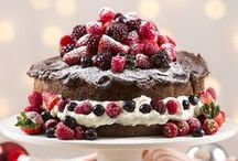 Christmas Food Inspiration / From succulent Ham glaze ideas and summery salads to decadent desserts and easy finger food - we've got your Christmas recipe inspiration covered.