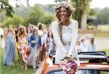 Mariée Hippie Chic / Une mariée tout en couleurs, fleurs et inspirations champêtre.