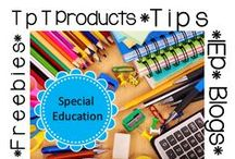 Special Education / Organization, Tips, Teachers pay Teachers, Freebies, Blogs, Advice, Special Education, Classroom Suggestions, Behavior Strategies, Literacy and Math, Elementary School, Learning Disabilities ...and more!