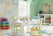 Kids' Playroom / Ideas for making the most of a playroom, library, or Lego room. This is where I stash all the best ideas for kids playrooms. jessconnell.com