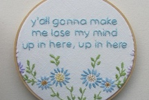 Embroidery!!! / I'm no professional but I enjoy trying different embroidery stitches and learning about embroidery. These are my favorite embroidery ideas. jessconnell.com
