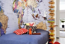 Boys' Adventure Room / I'm a mom of 6 boys. Here are my favorite boy room ideas-- real world ideas that I think my boys would actually like and use and enjoy. Let's share the best ideas for decorating boys rooms. jessconnell.com