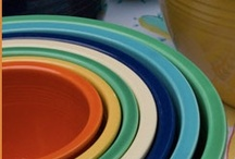 Dishes/Dinnerware / These are my dreams about dishes-- colorful dishes, unique combinations... this is where I stash my dishware ideas. jessconnell.com