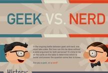 Nerd and Geek / Nerd and Geek stuff from everywhere.